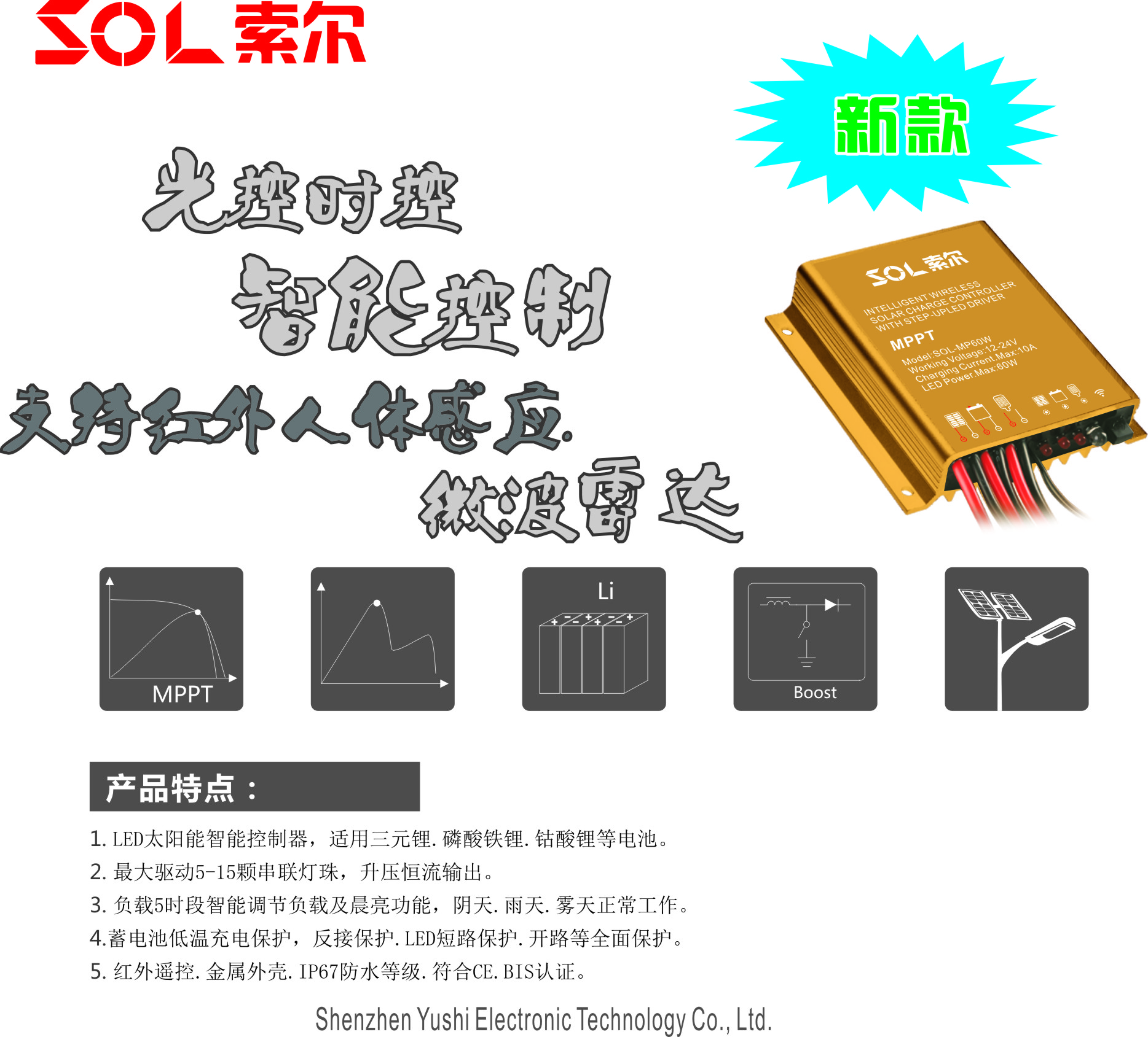 SOL-MP60WR Induction